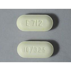 PERCOCET ®BRAND (E-712) 10/325mg 60 Pills