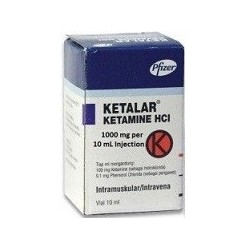 KETALAR 1000mg Crystals Injection USA