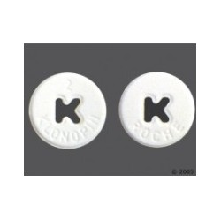 KLONOPIN ®BRAND (CLONAZEPAM) 2mg x 30 Pills